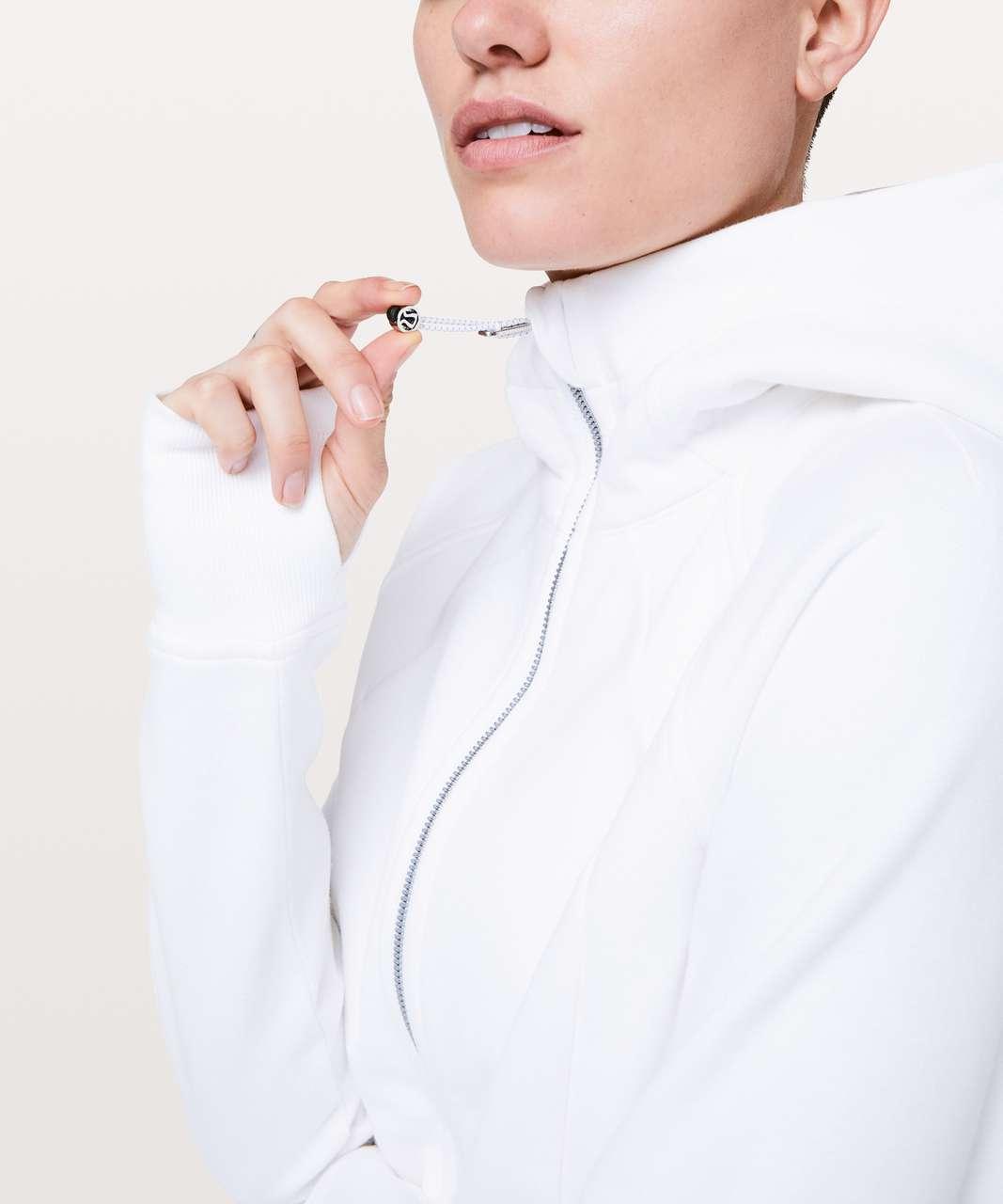 Lululemon Scuba Hoodie *Light Cotton Fleece - White