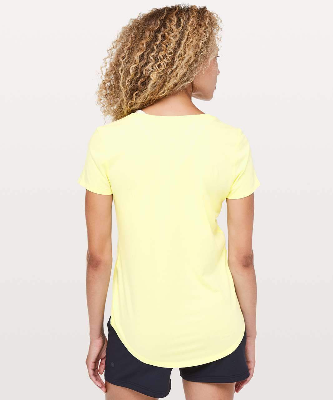 Lululemon Love Tee V - Lemon Ice