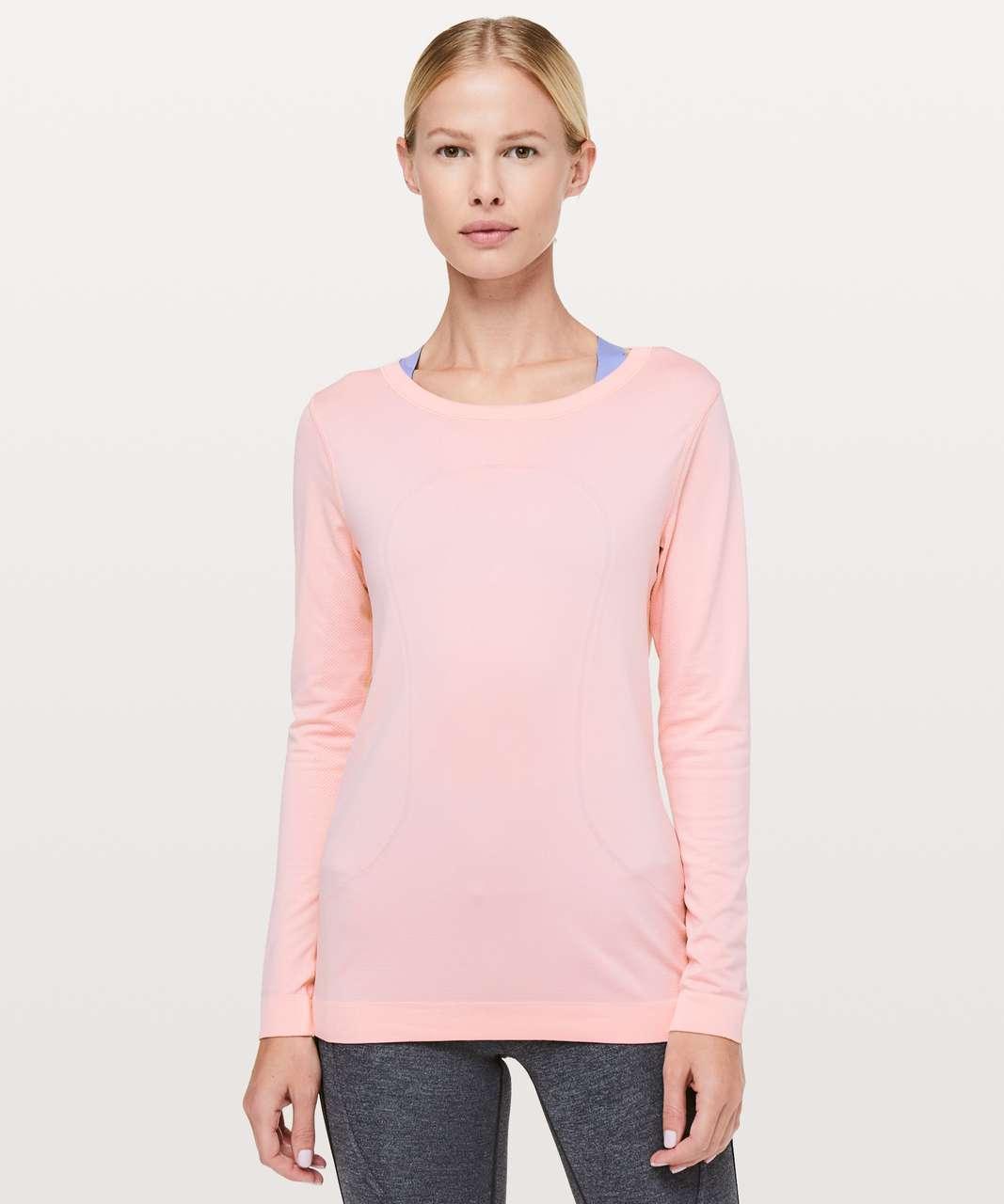 Lululemon Swiftly Tech Long Sleeve (Breeze) *Relaxed Fit - Dusty Pink / Dusty Pink