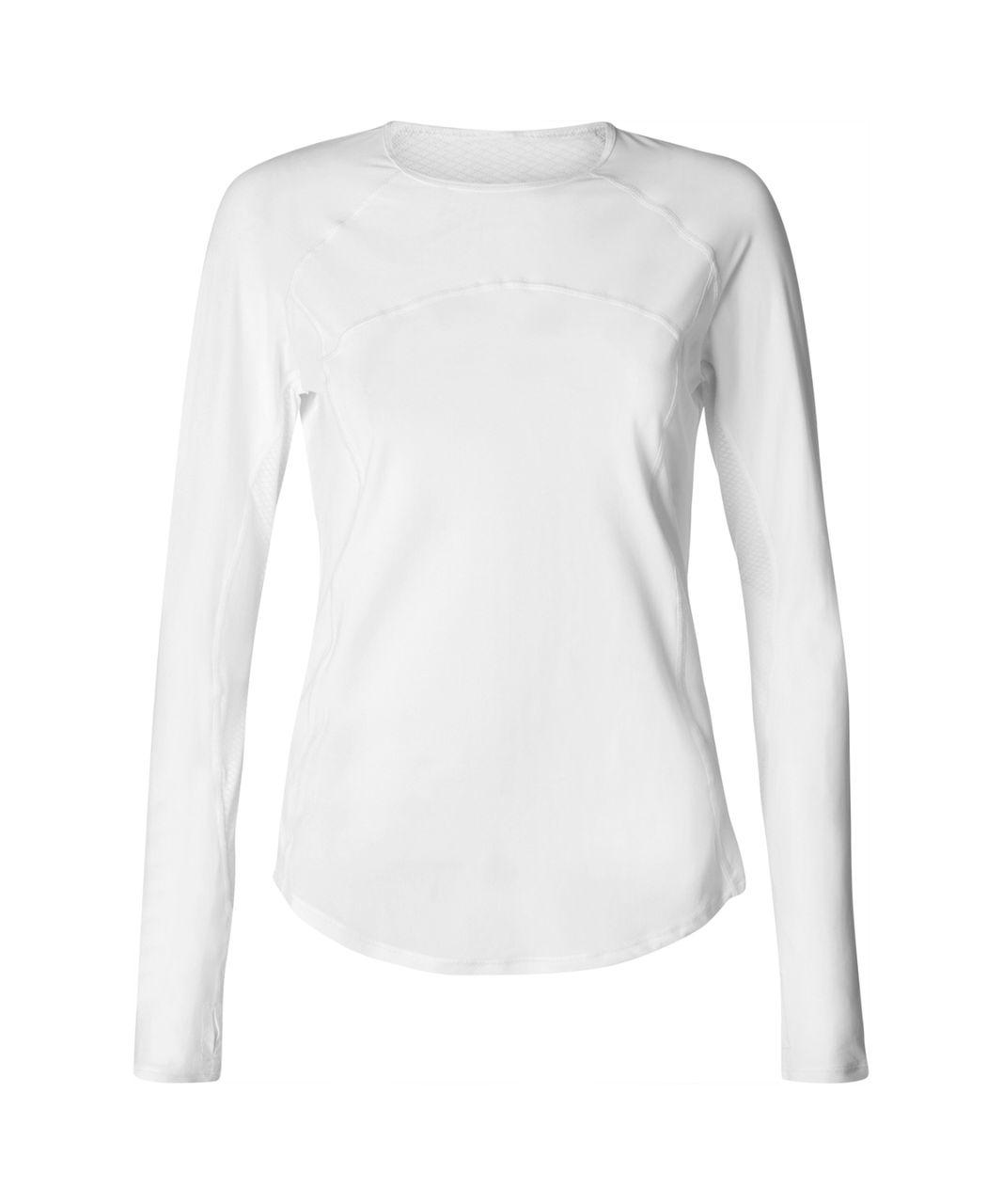 Lululemon Cover Me Long Sleeve - White