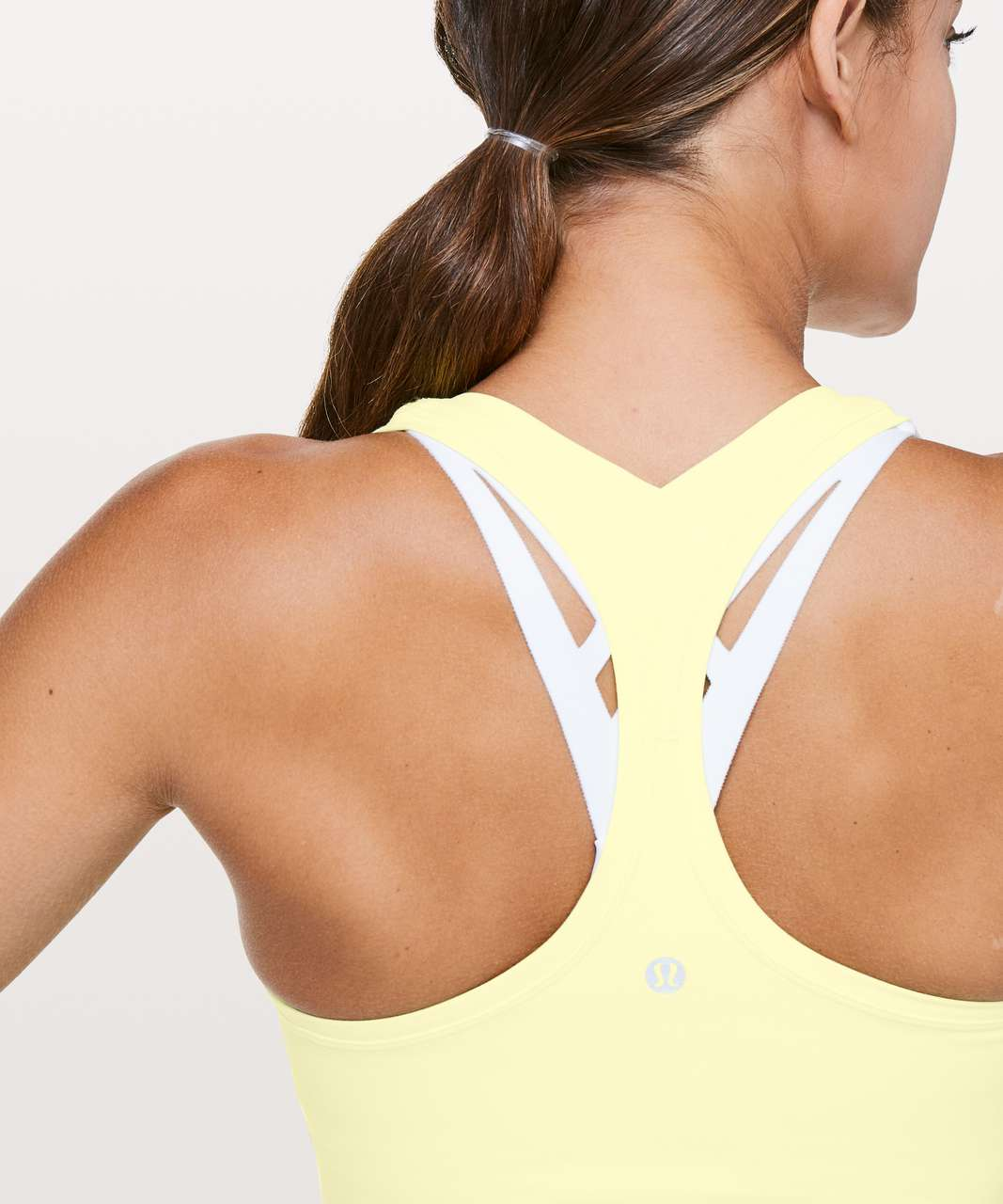 Lululemon Cool Racerback II *Nulu - Lemon Ice