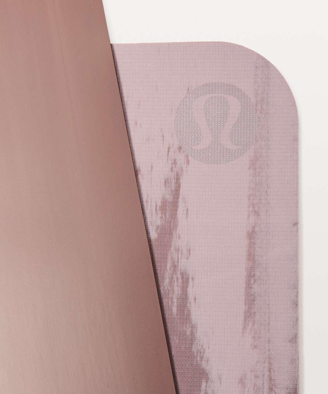 Lululemon The Reversible Mat 5mm - Misty Mauve / Misty Mocha