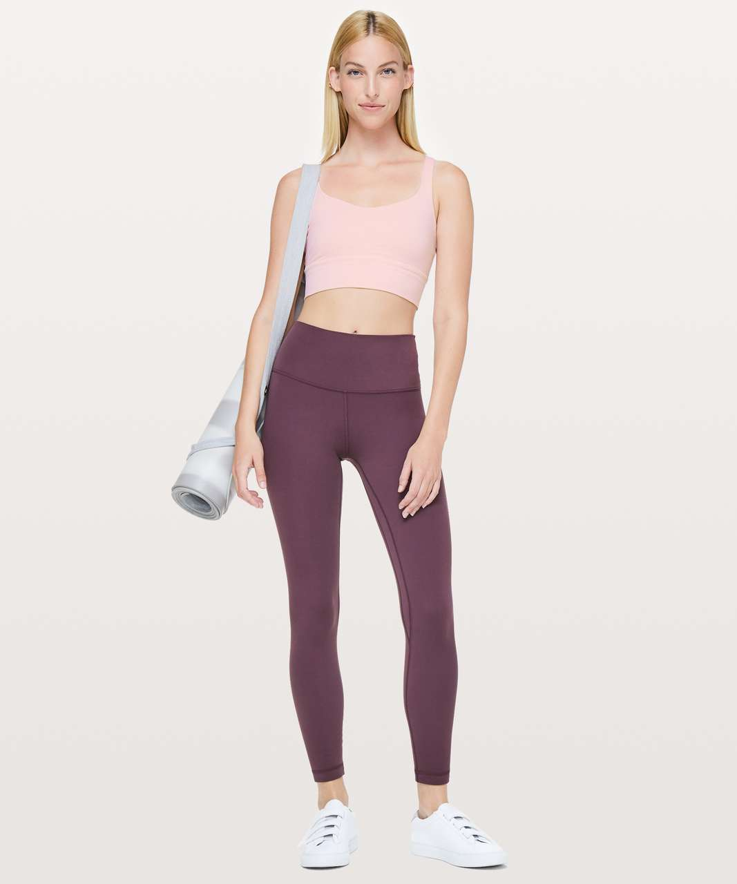 Lululemon Free To Be Bra *Long Line - Dusty Pink