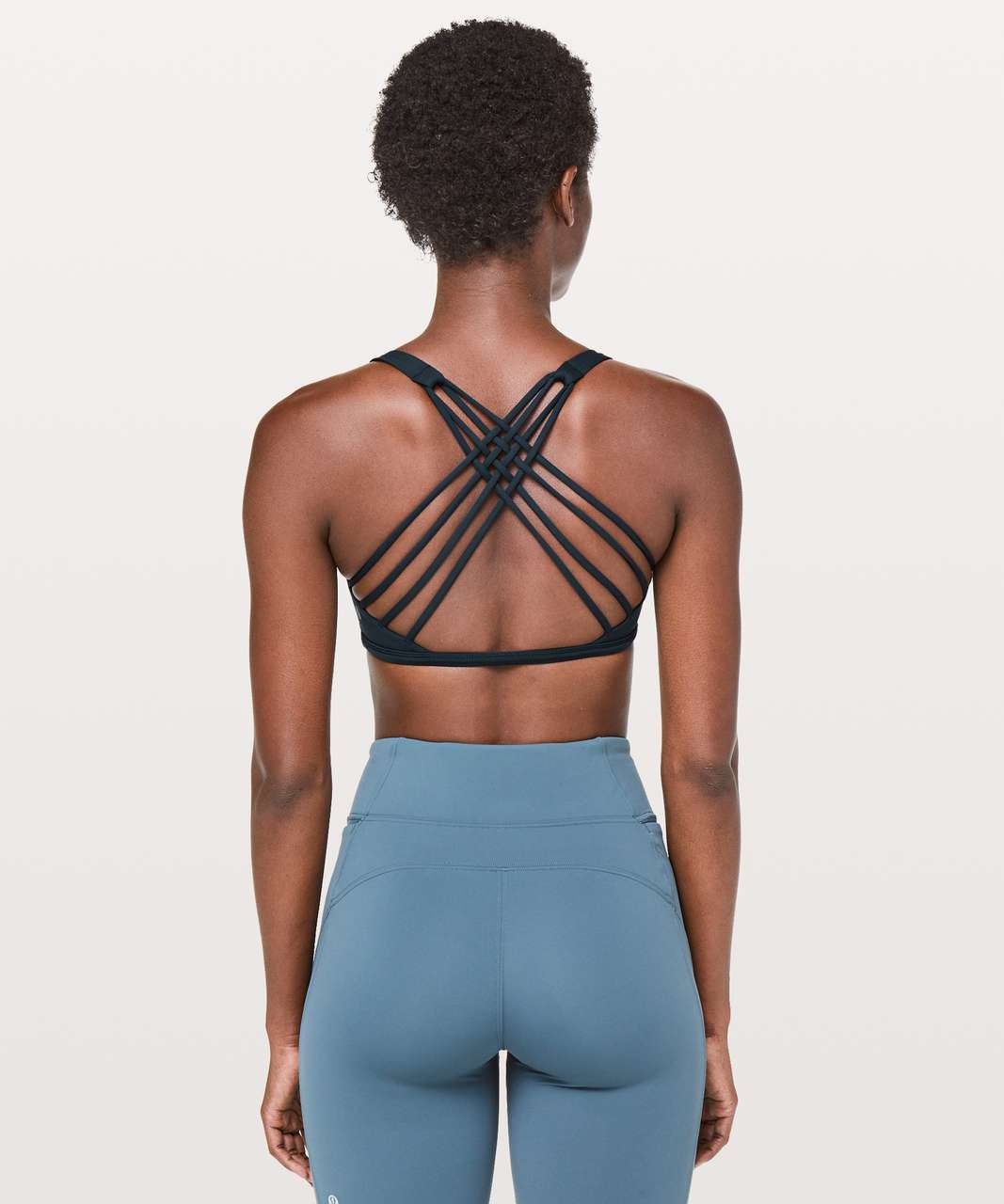 Lululemon Free To Be Bra (Wild) - Nocturnal Teal