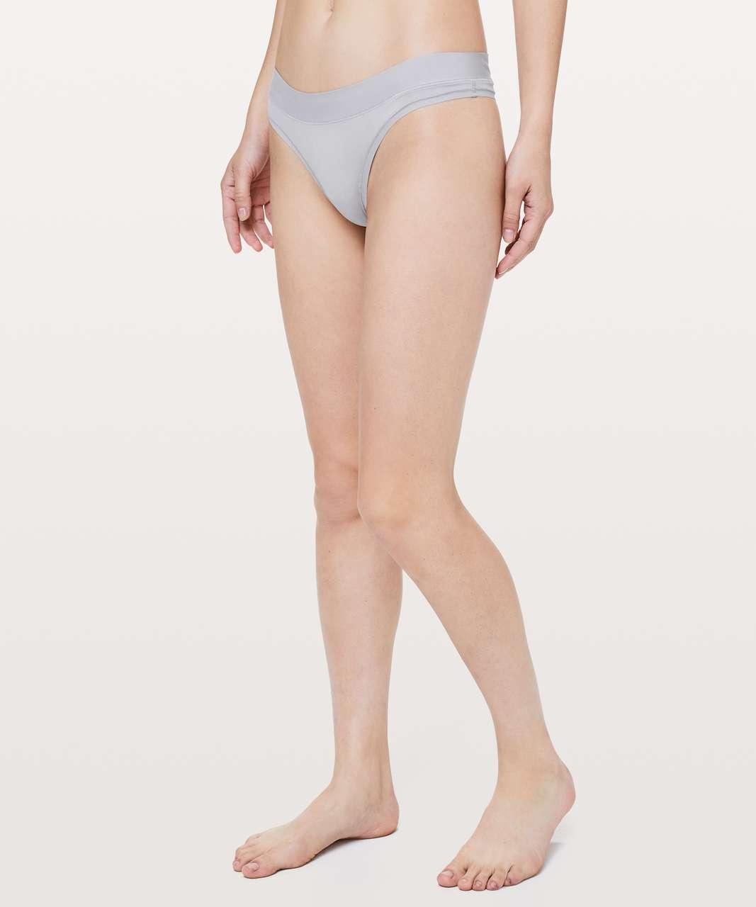 Lululemon Mula Bandhawear Thong - Lavender Grey