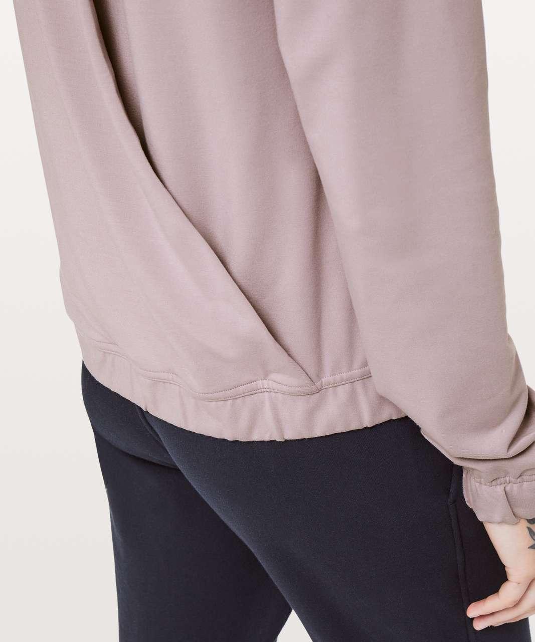 Lululemon Twisted & Tucked Pullover - Smoky Blush
