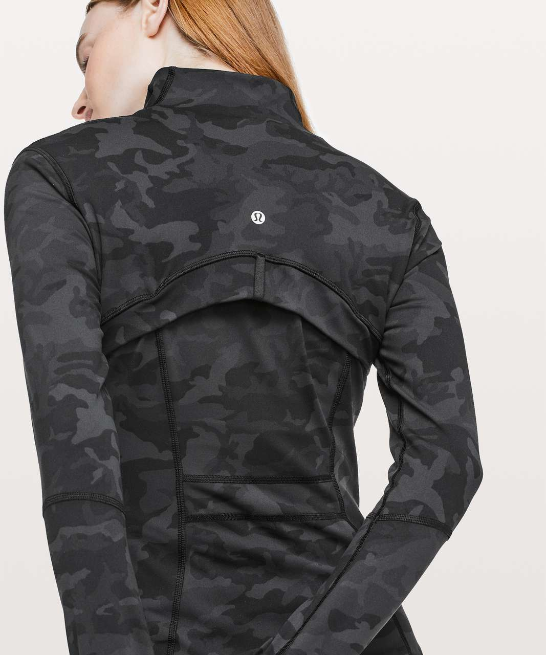 Lululemon Define Jacket - Incognito Camo Multi Grey