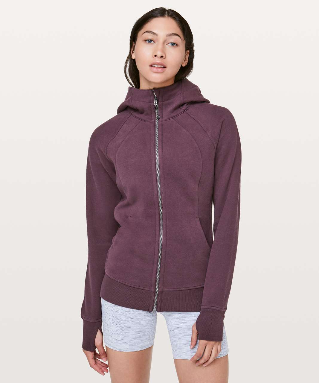 Lululemon Scuba Hoodie *Light Cotton Fleece - Arctic Plum