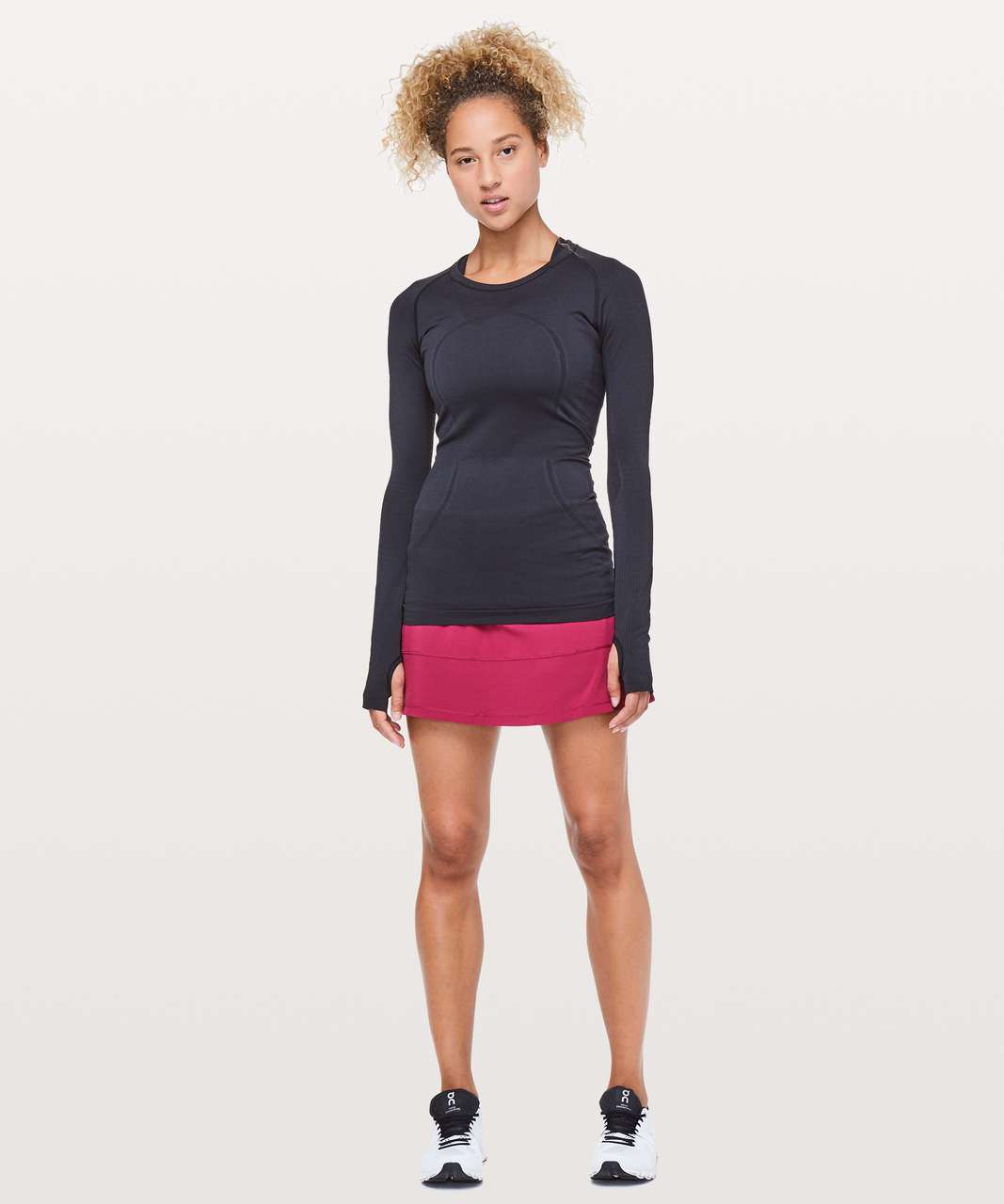 "Lululemon Pace Rival Skirt (Tall) *4-way Stretch 15"" - Star Ruby"