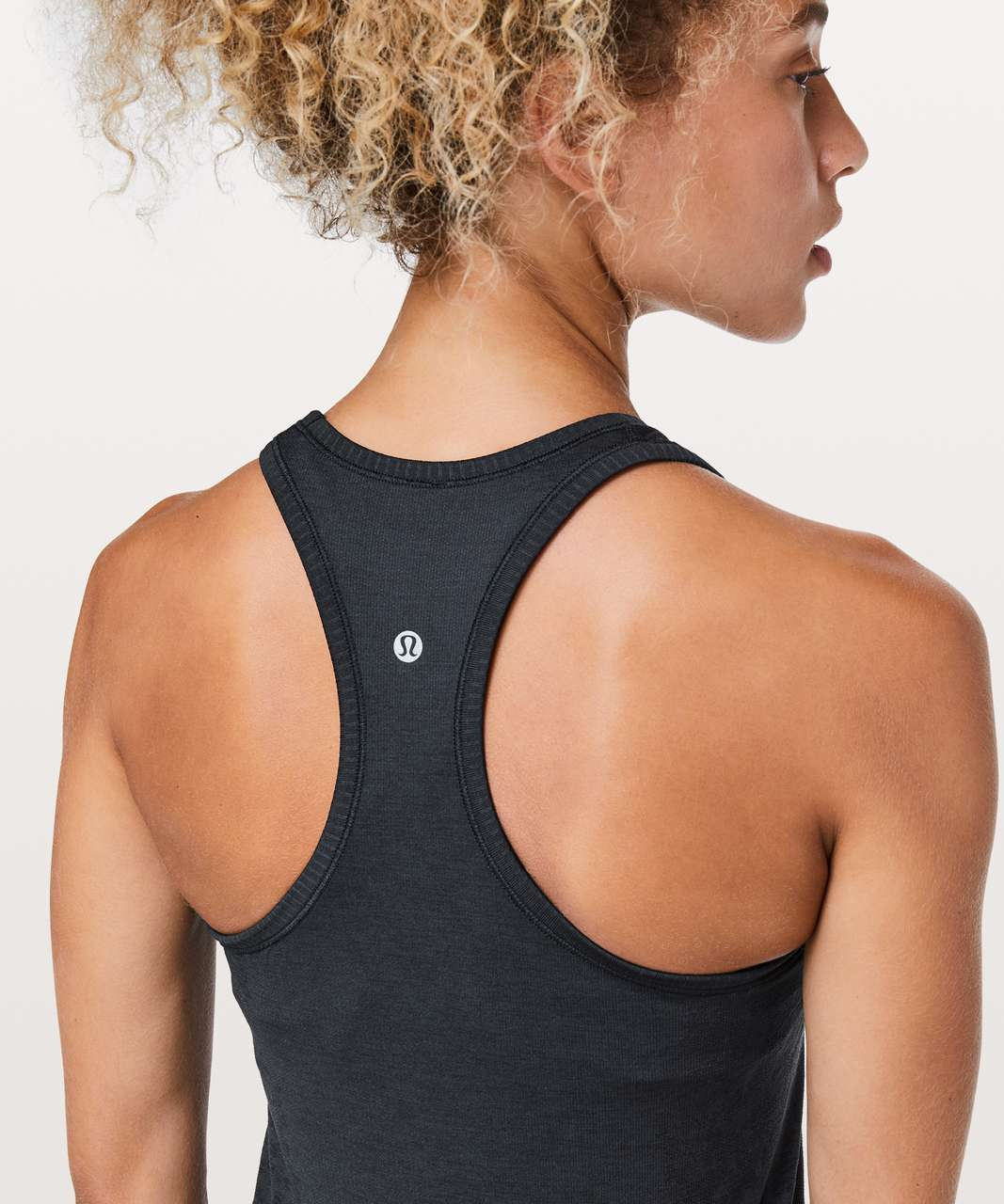 Lululemon Swiftly Tech Racerback - True Navy / Black