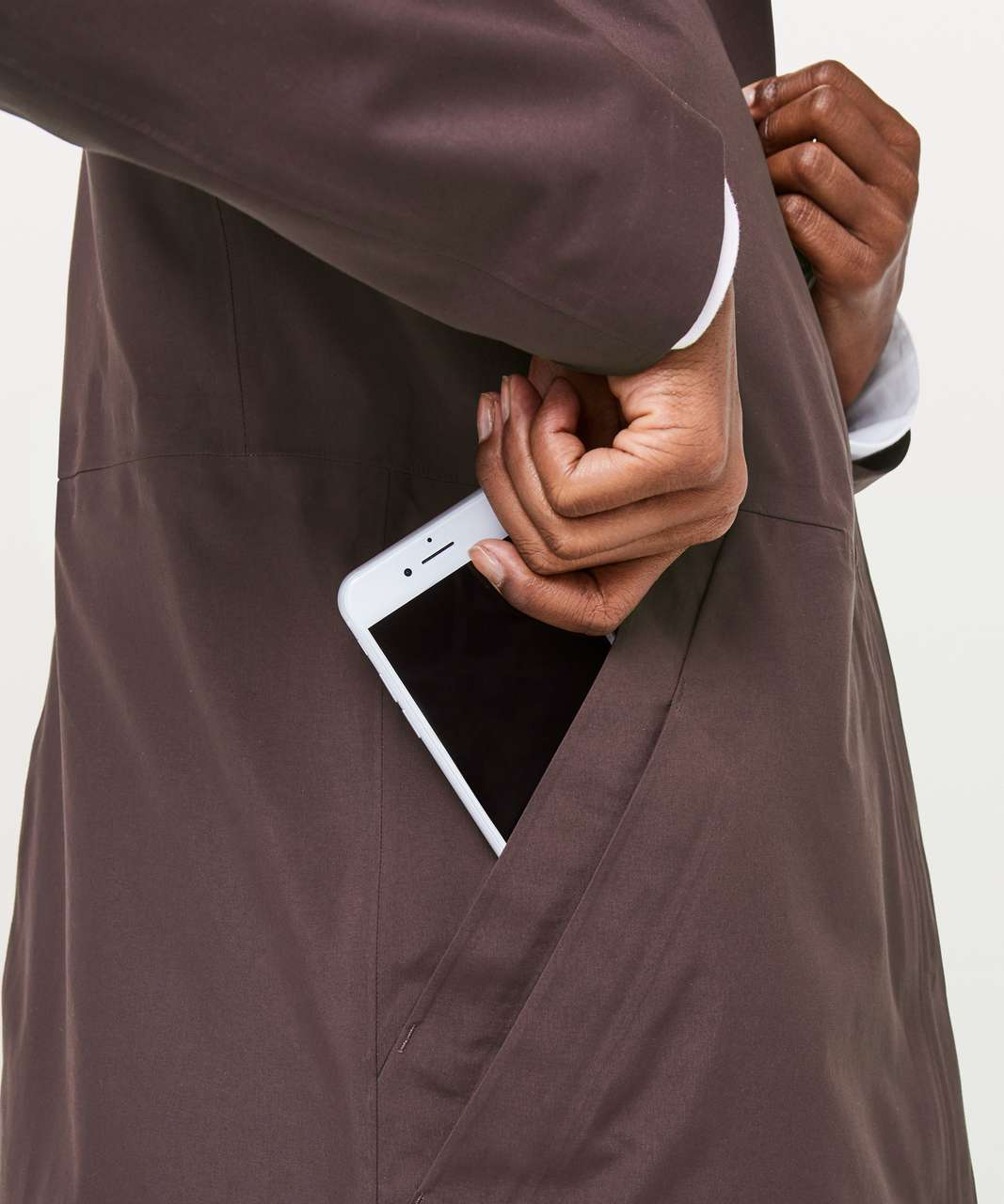 5282fcde9 Lululemon Rain Haven Jacket *Insulated - Pelt - lulu fanatics