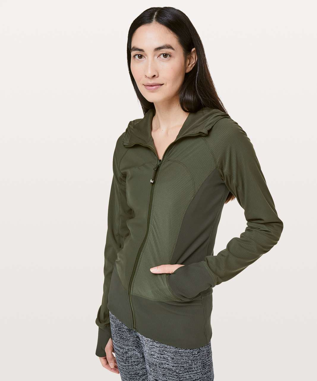 Lululemon In Flux Jacket - Gator Green