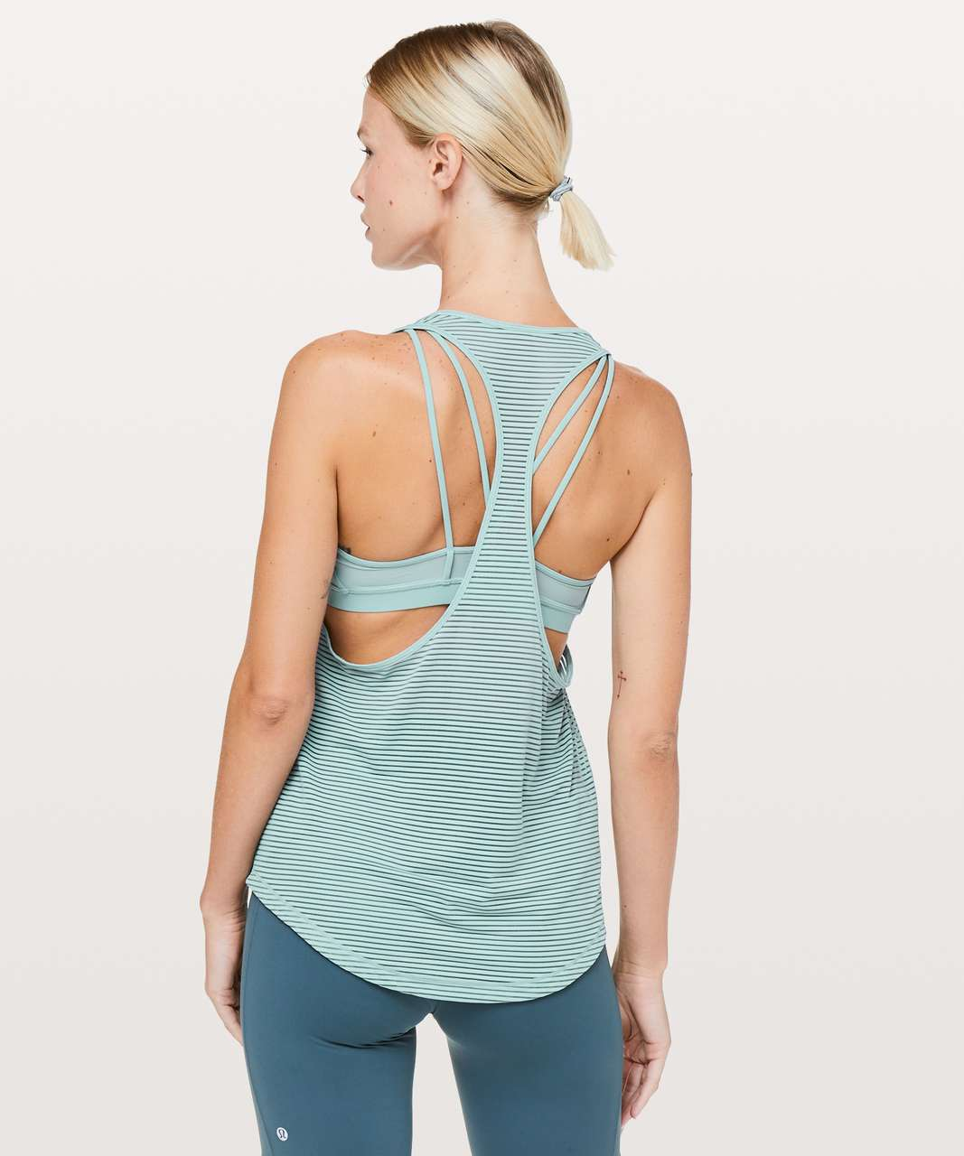 b01170e76a2a6 Lululemon Fully Flexed 2-In-1 Tank - Cloud Blue - lulu fanatics