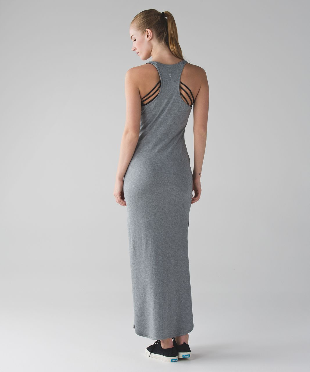 8eaf76386d9 Lululemon Refresh Maxi Dress II - Heathered Medium Grey (First Release) -  lulu fanatics