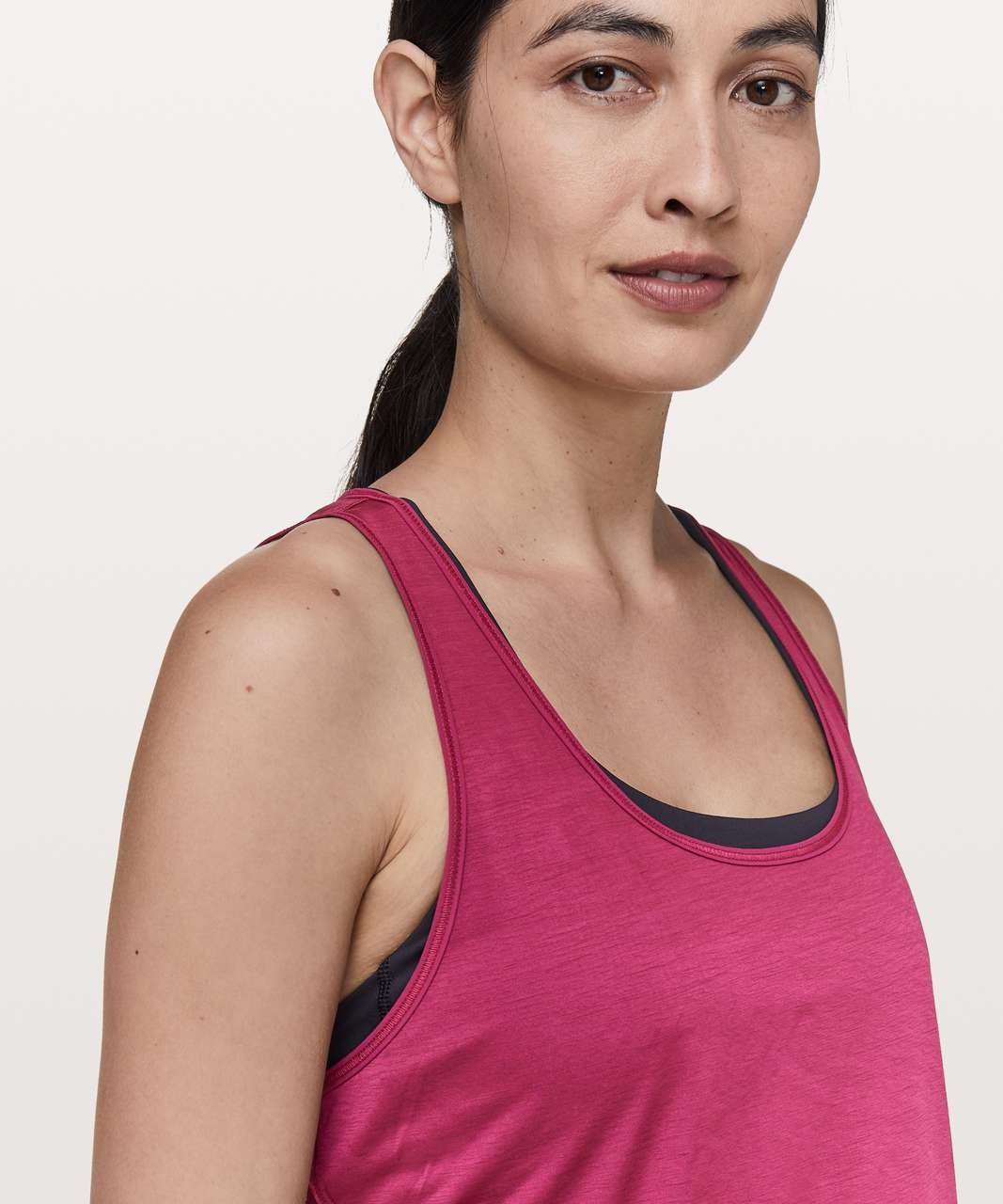 Lululemon Set The Course Tank - Star Ruby