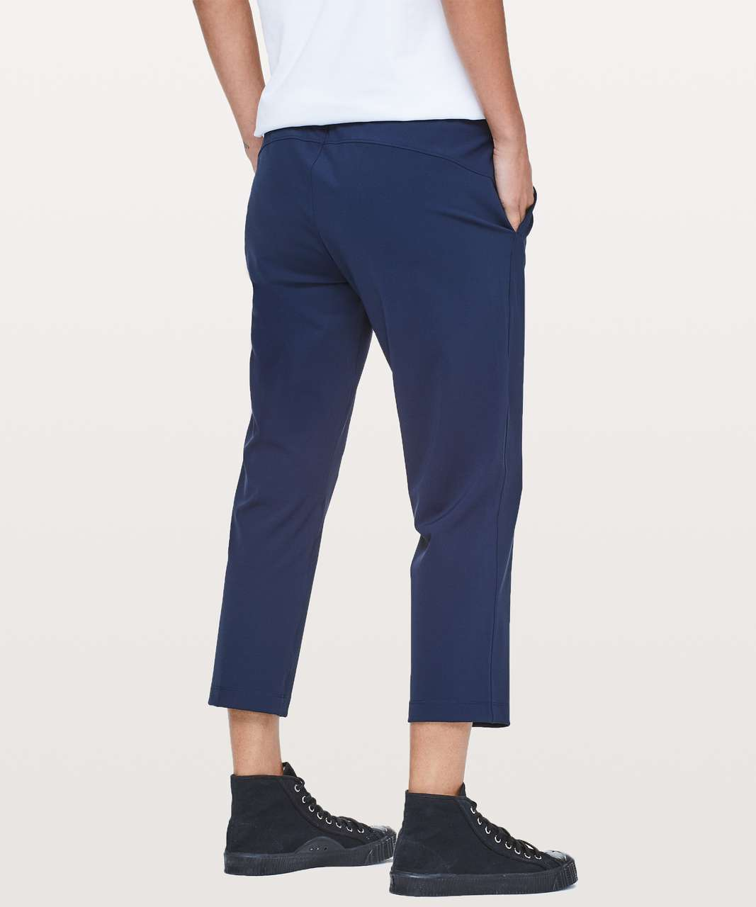 """Lululemon On The Fly Crop *23"""" - True Navy (Second Release)"""
