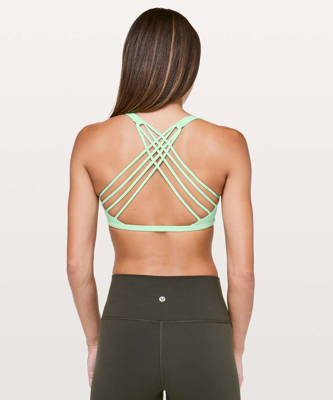 Lululemon Free To Be Bra (Wild) - Citra Lime