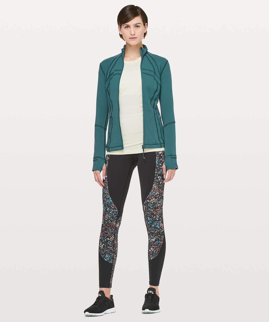 Lululemon Define Jacket - Green Jasper