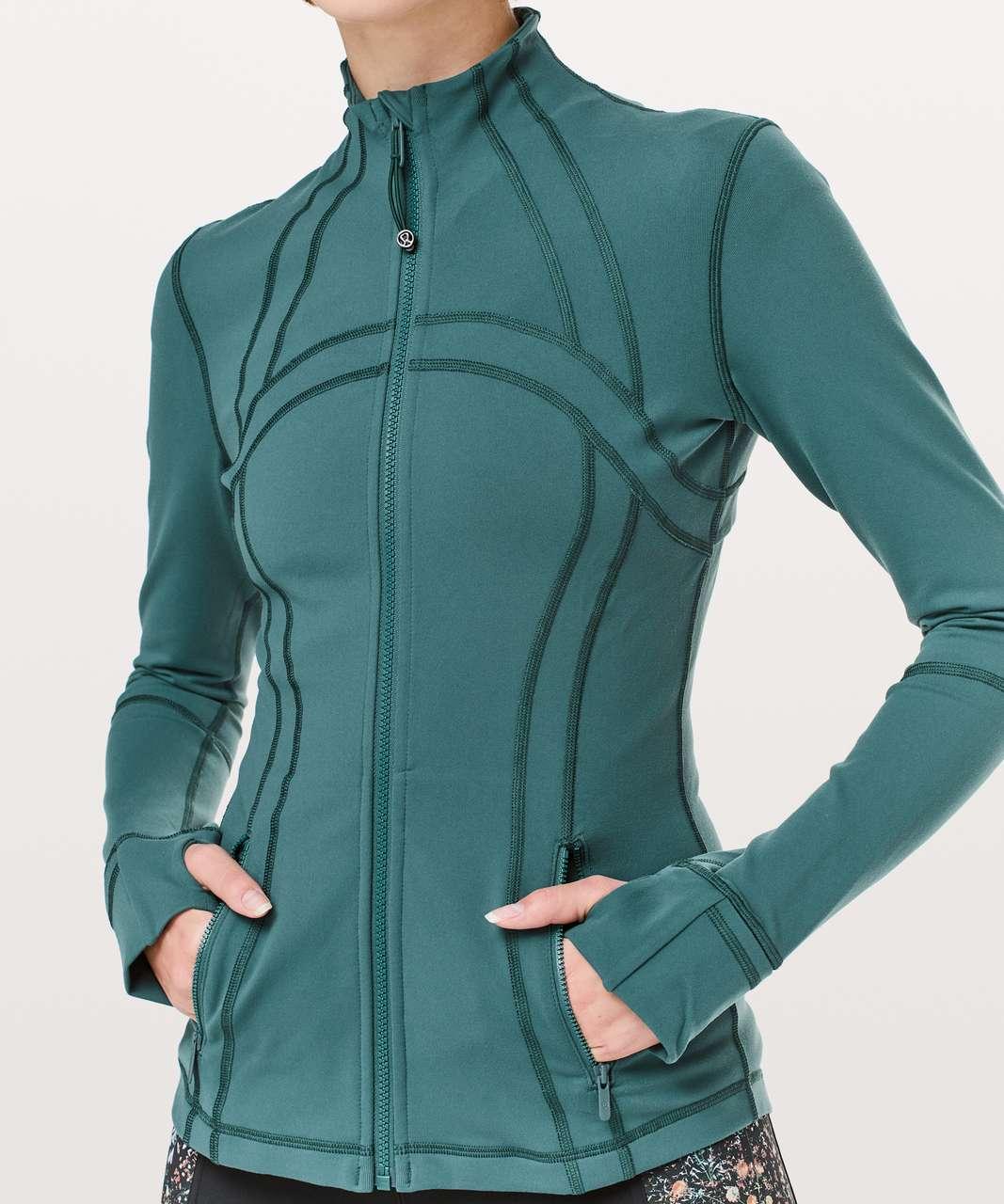Lululemon Define Jacket - Green Jasper