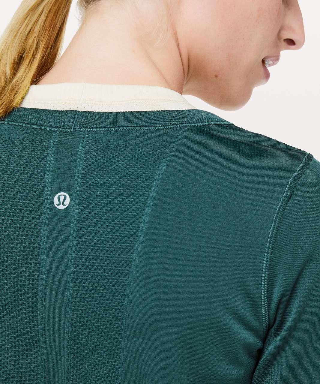 Lululemon Swiftly Tech Long Sleeve (Breeze) *Relaxed Fit - Green Jasper / Green Jasper