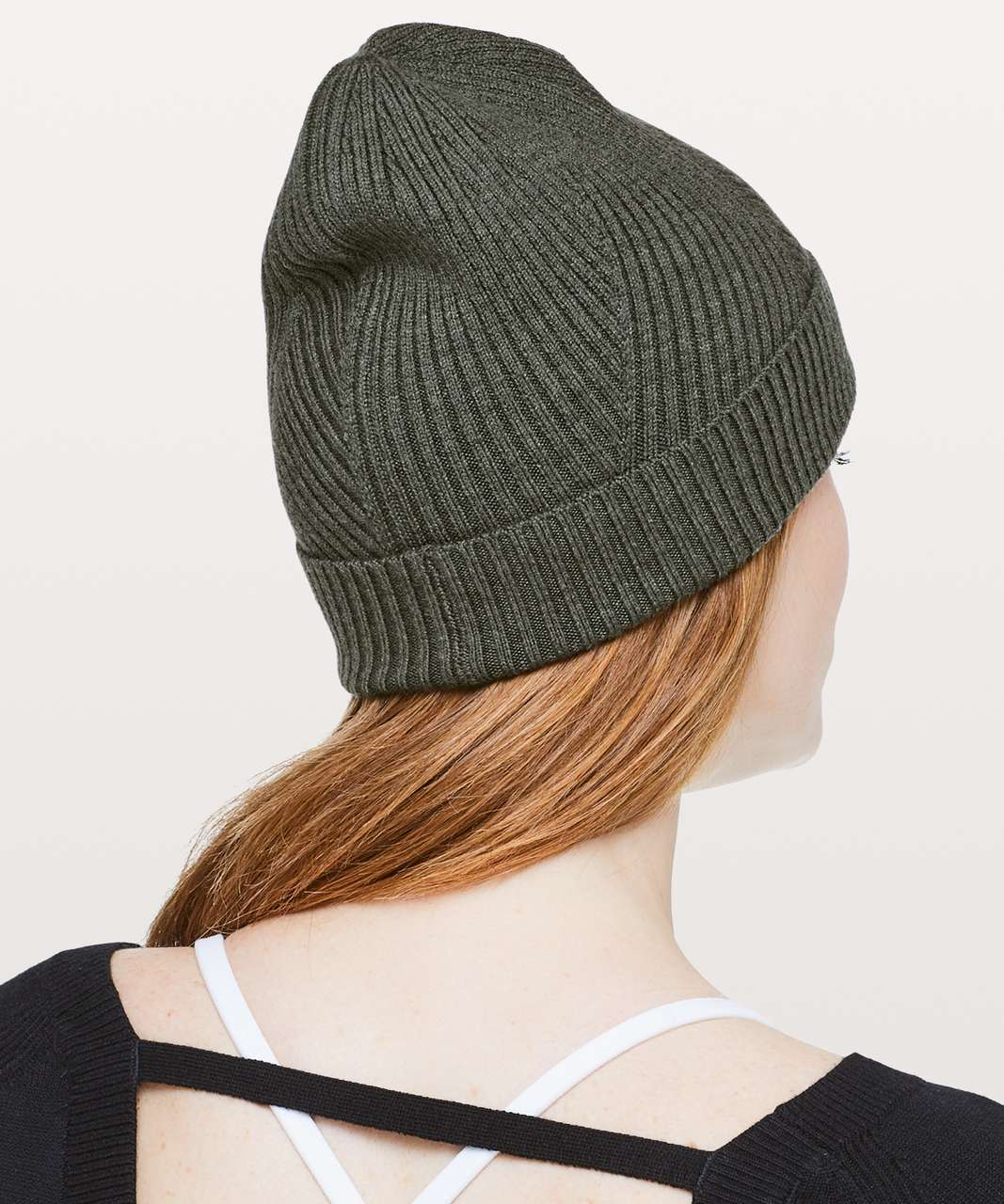 ce7c92920 Lululemon Twist Of Cozy Knit Beanie - Heathered Camo Green