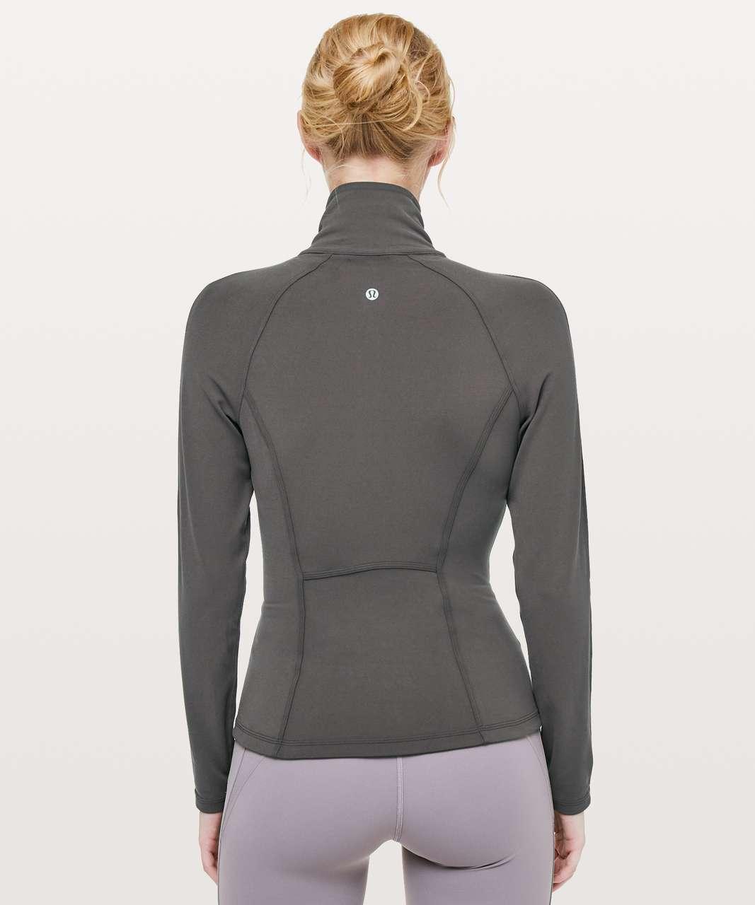 Lululemon Principal Dancer Corsetry Jacket - Soot