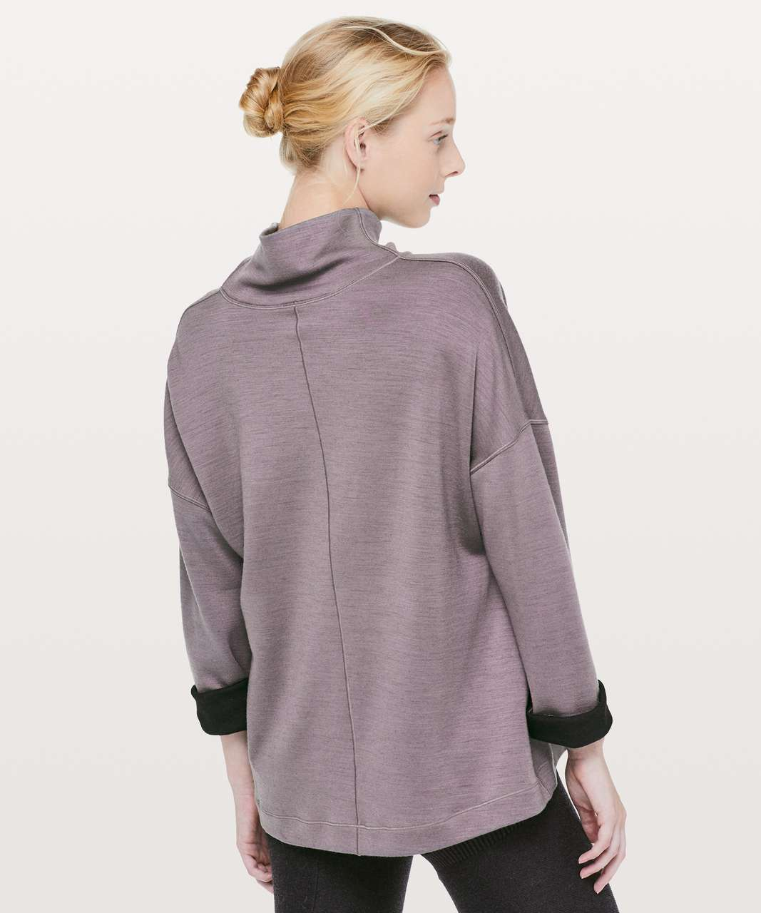 Lululemon Principal Dancer Funnel Neck Sweater - Lunar Rock