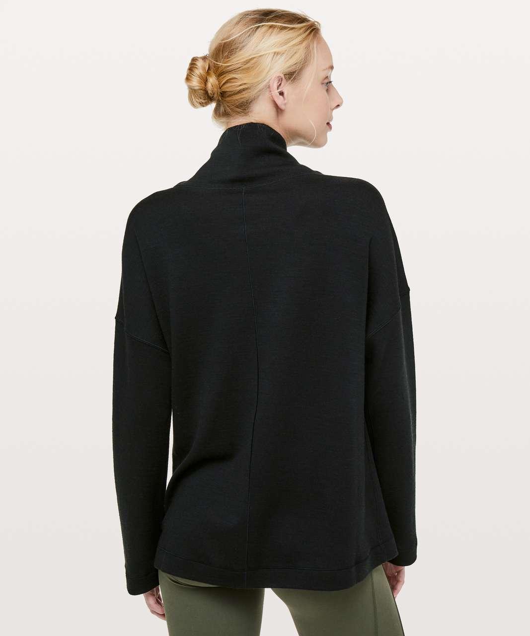 Lululemon Principal Dancer Funnel Neck Sweater - Black