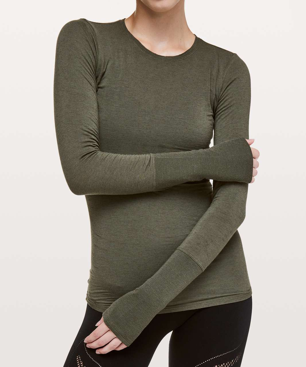 Lululemon Principal Dancer Long Sleeve - Armory