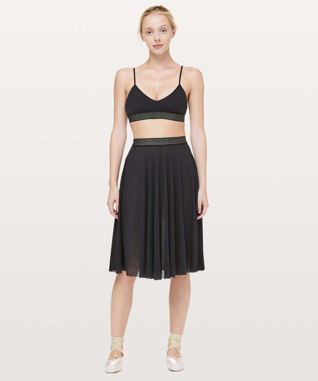 "Lululemon Principal Dancer Skirt *15"" - Black"