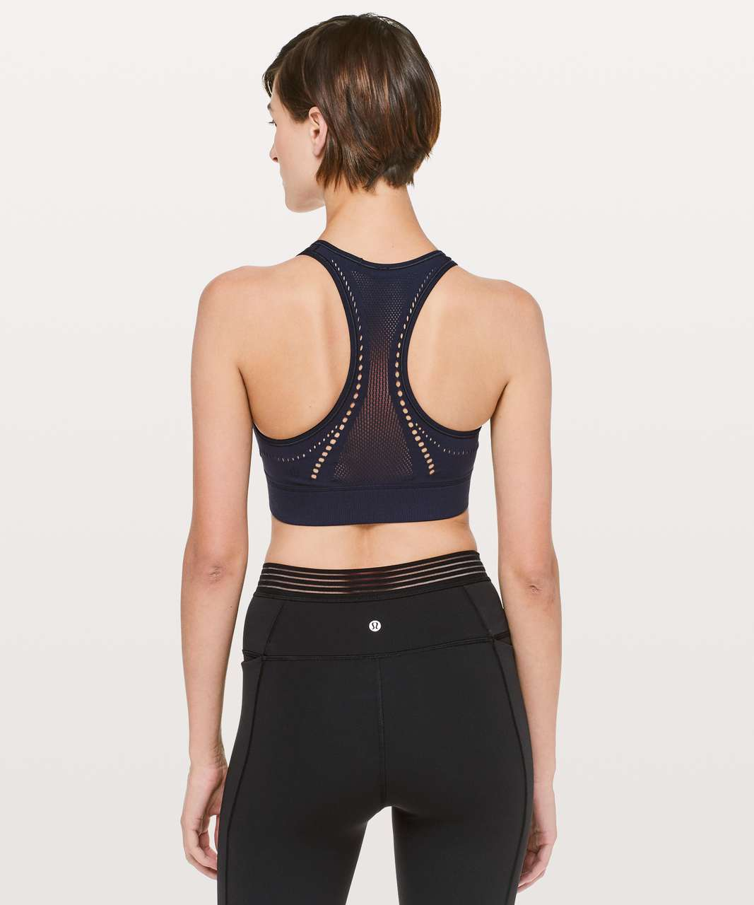 Lululemon Reveal Bra *Precision - Midnight Navy