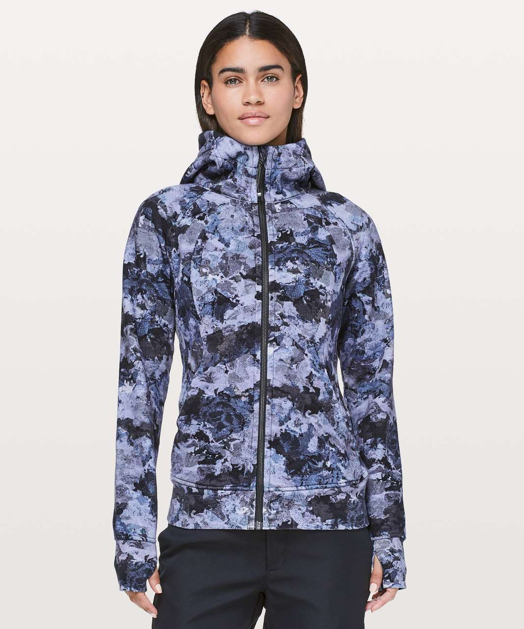 Lululemon Scuba Hoodie *Light Cotton Fleece - Screen Camo Multi