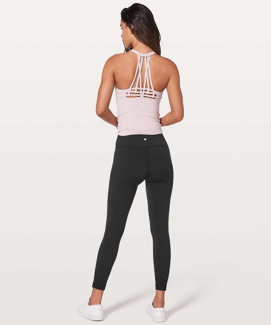 "Lululemon Wunder Under Hi-Rise 7/8 Tight *Full-On Luon 25"" - Black"