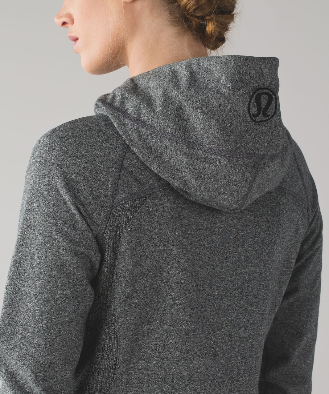 Lululemon Scuba Hoodie III - Heathered Speckled Black