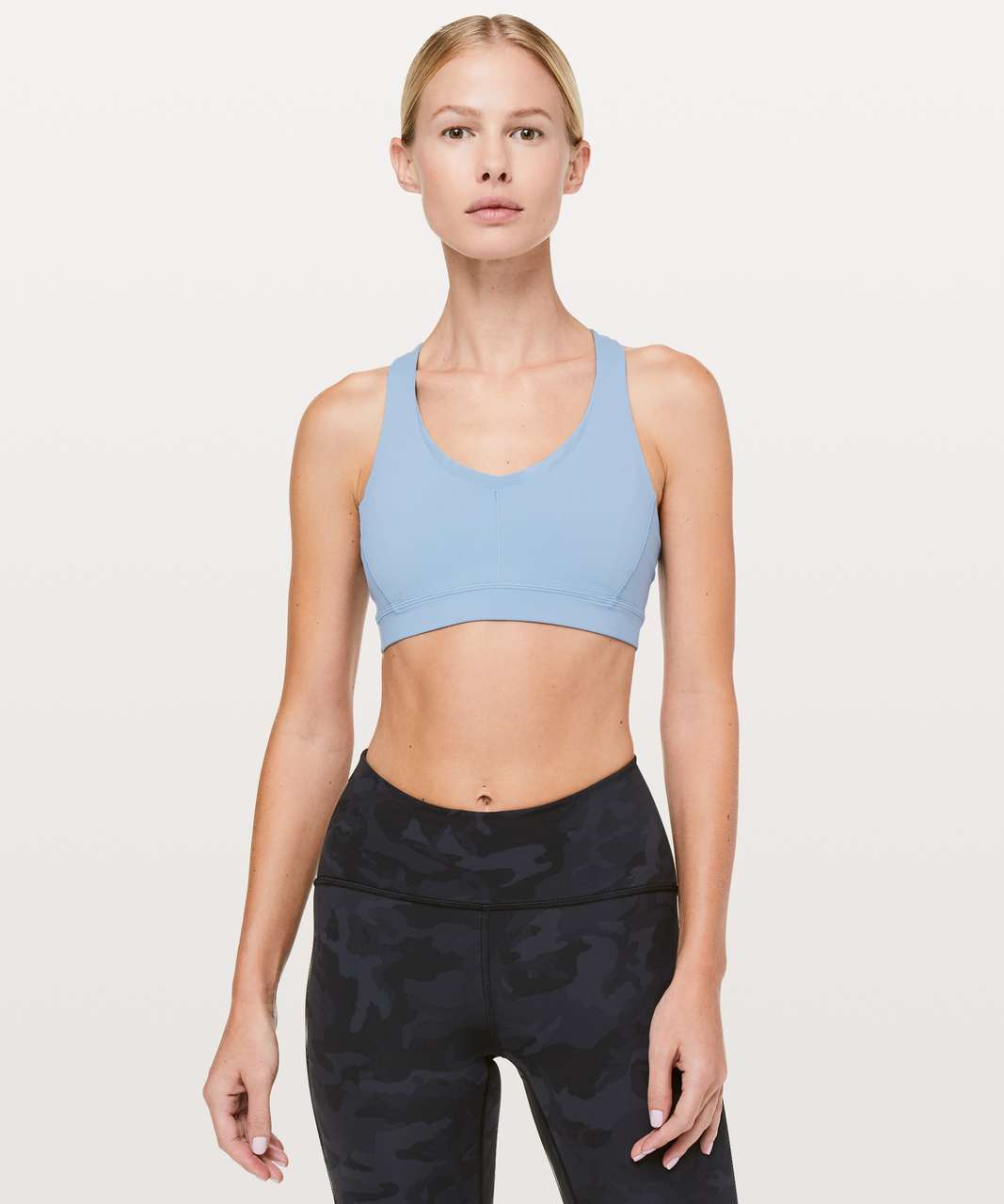 04cd732d18 Lululemon Stash N  Run Bra - Cascade Blue - lulu fanatics