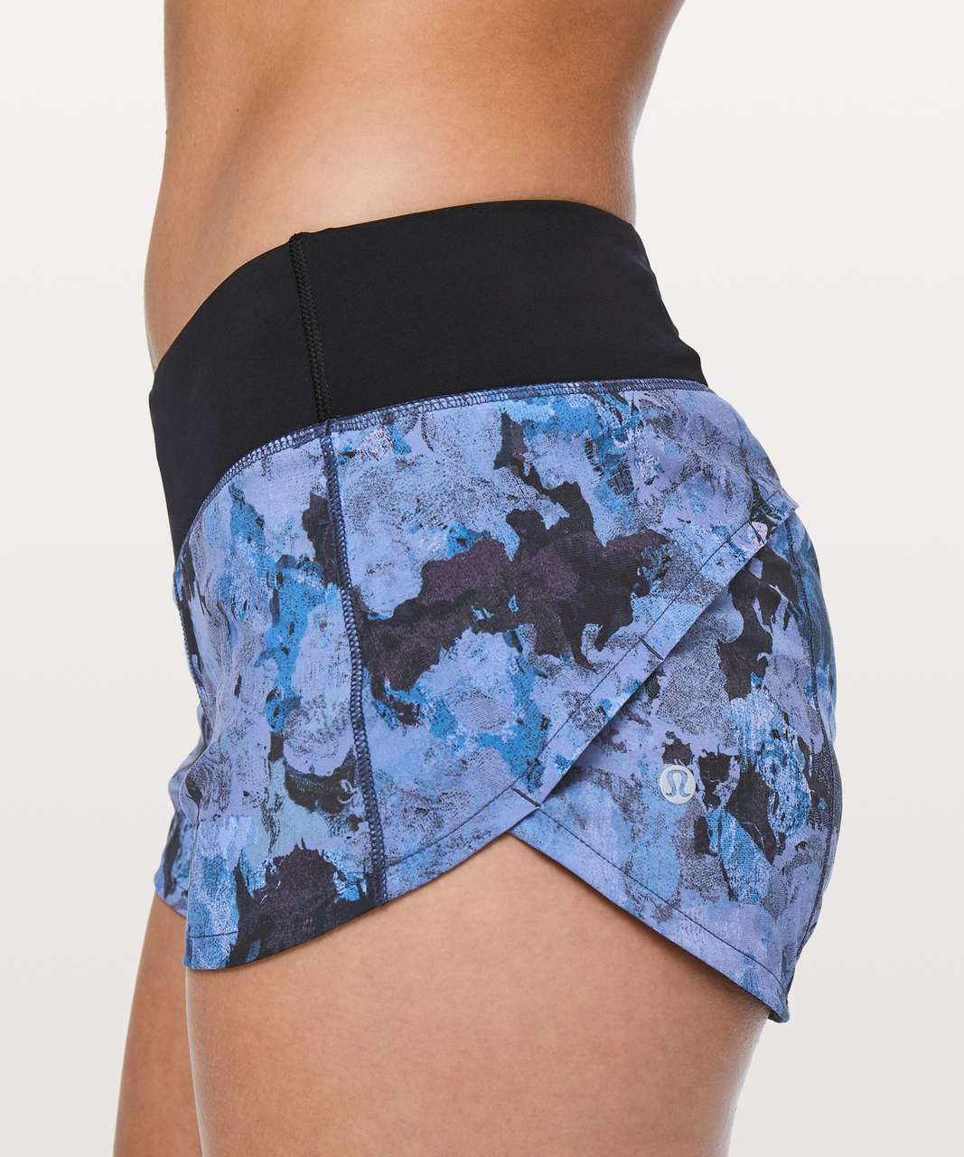 "Lululemon Speed Up Short *2.5"" - Screen Camo Multi / Black"