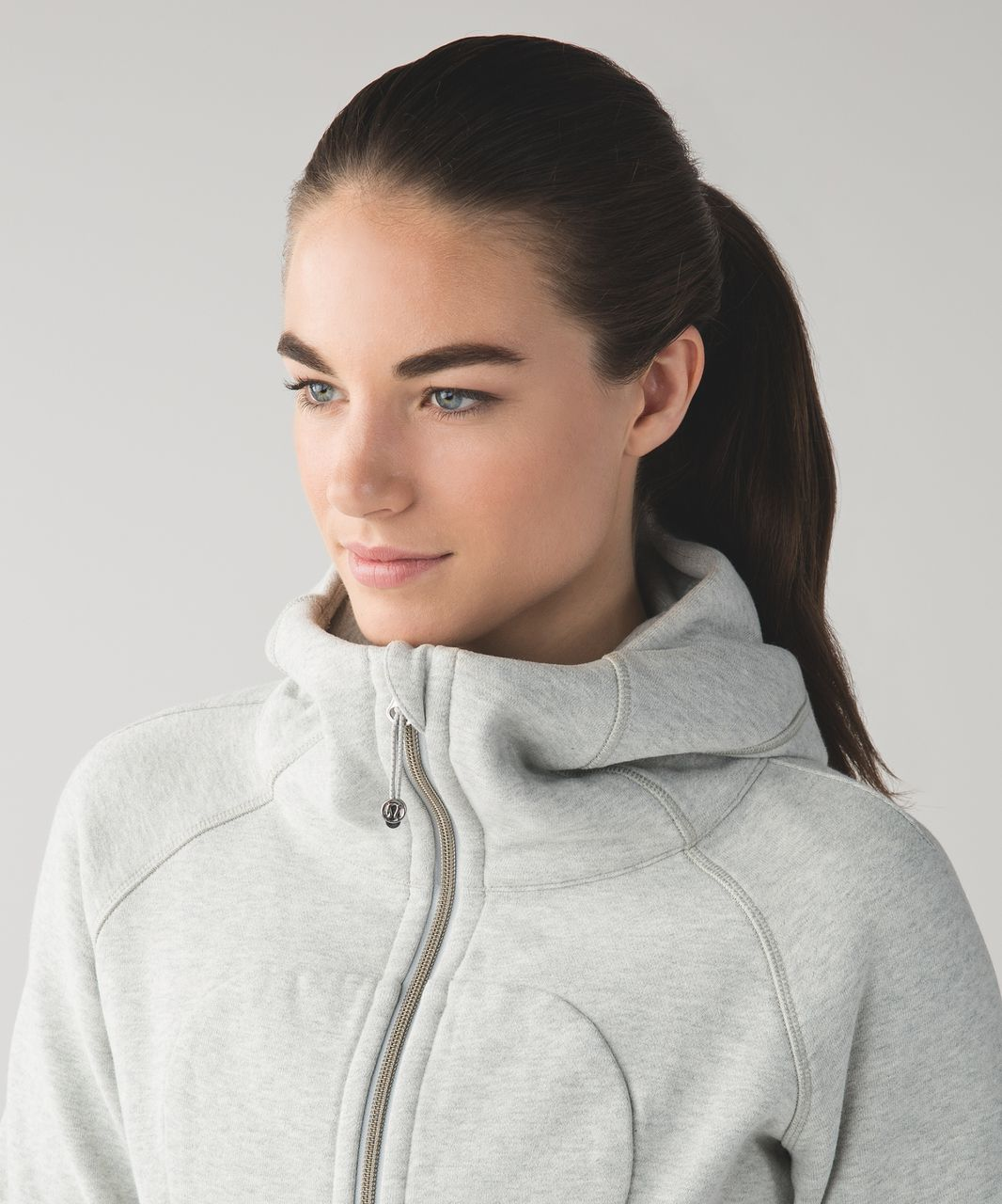 Lululemon Scuba Hoodie III - Heathered Light Grey (First Release)