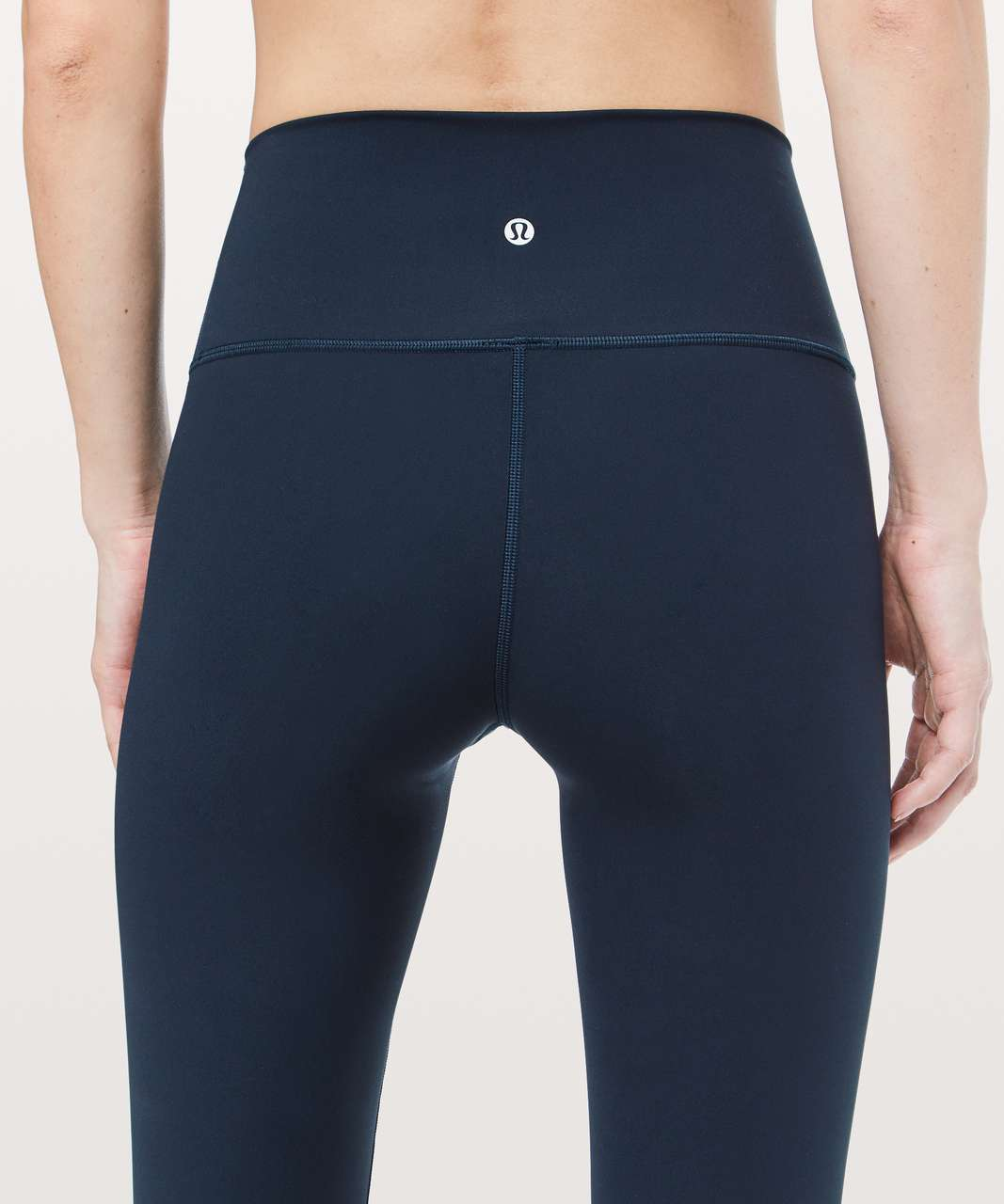 "Lululemon Wunder Under Crop (Hi-Rise) *Full-On Luxtreme 21"" - True Navy"