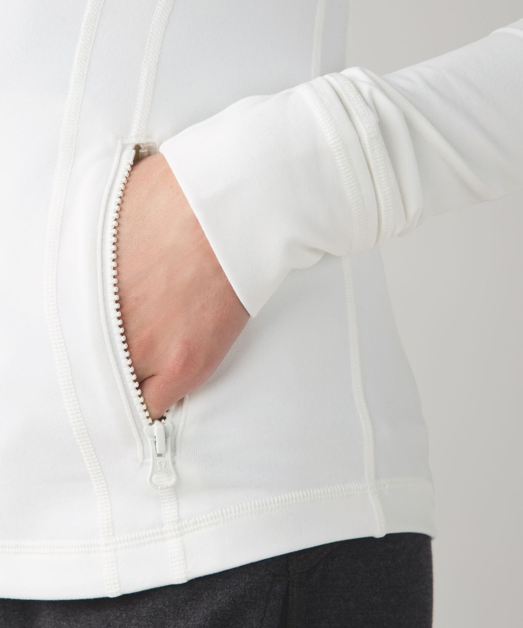 Lululemon Define Jacket - White (First Release)