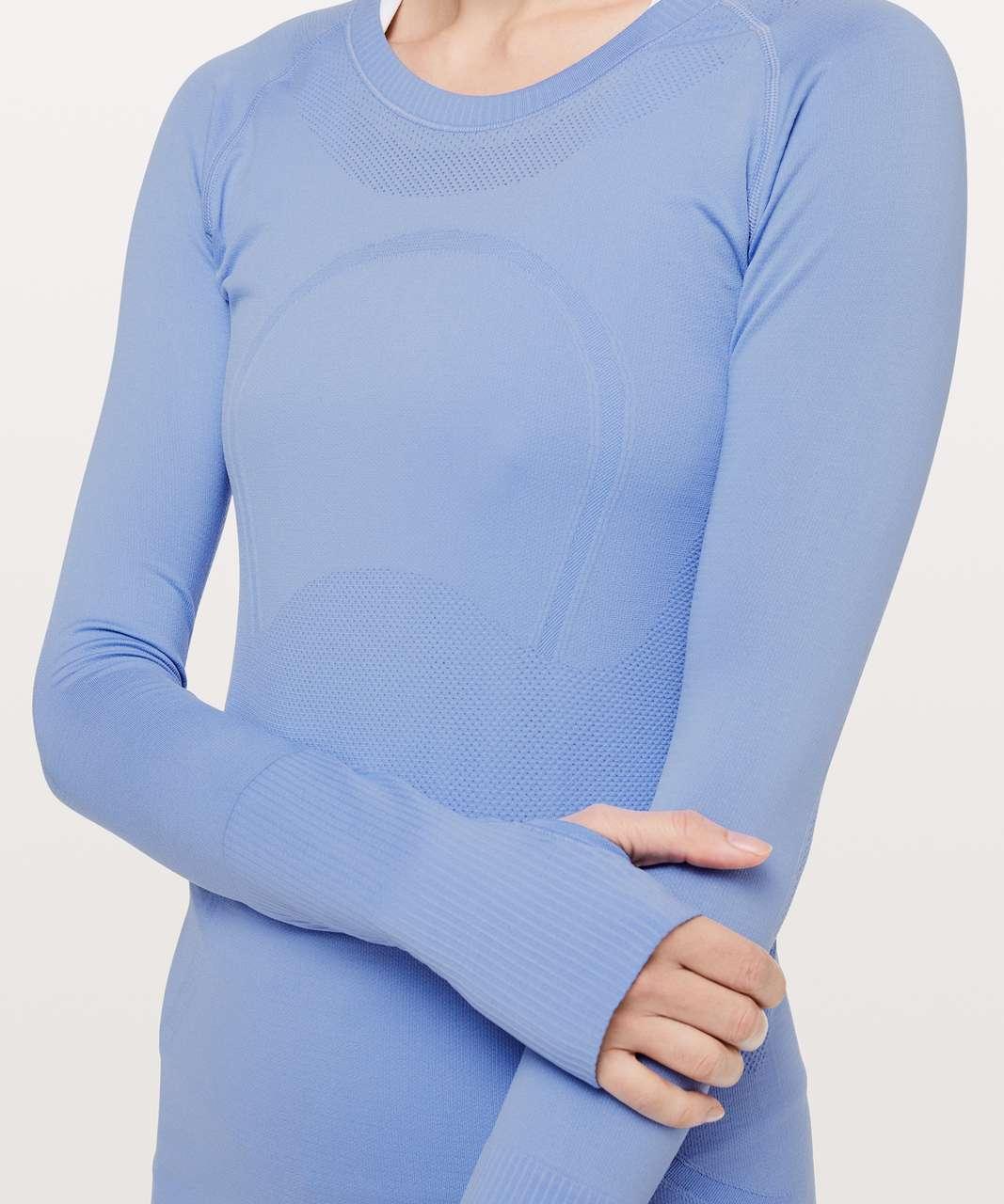 Lululemon Swiftly Tech Long Sleeve Crew - Hydrangea Blue / Hydrangea Blue