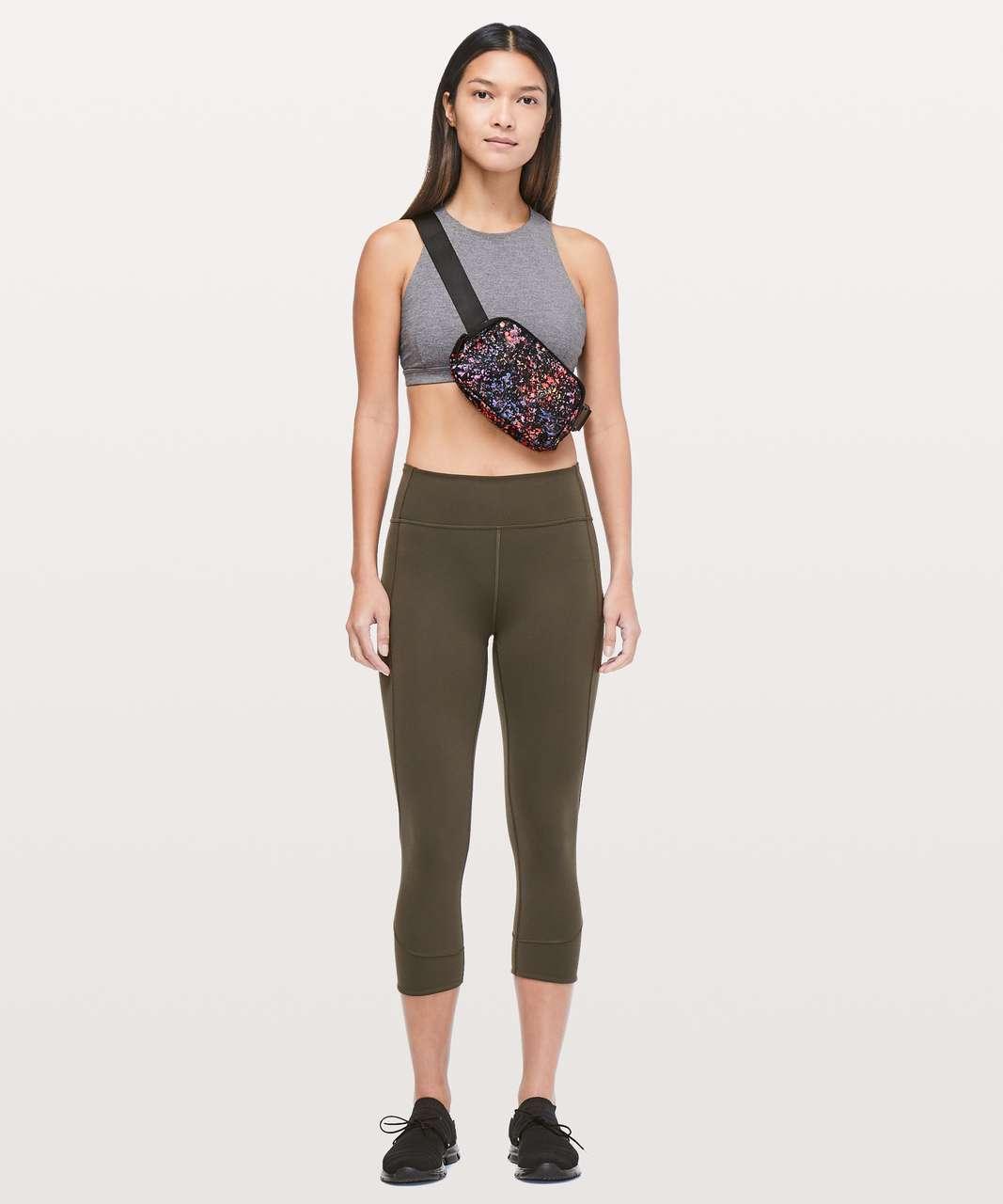 Lululemon Everywhere Belt Bag *1L - Flowerescent Multi / Black
