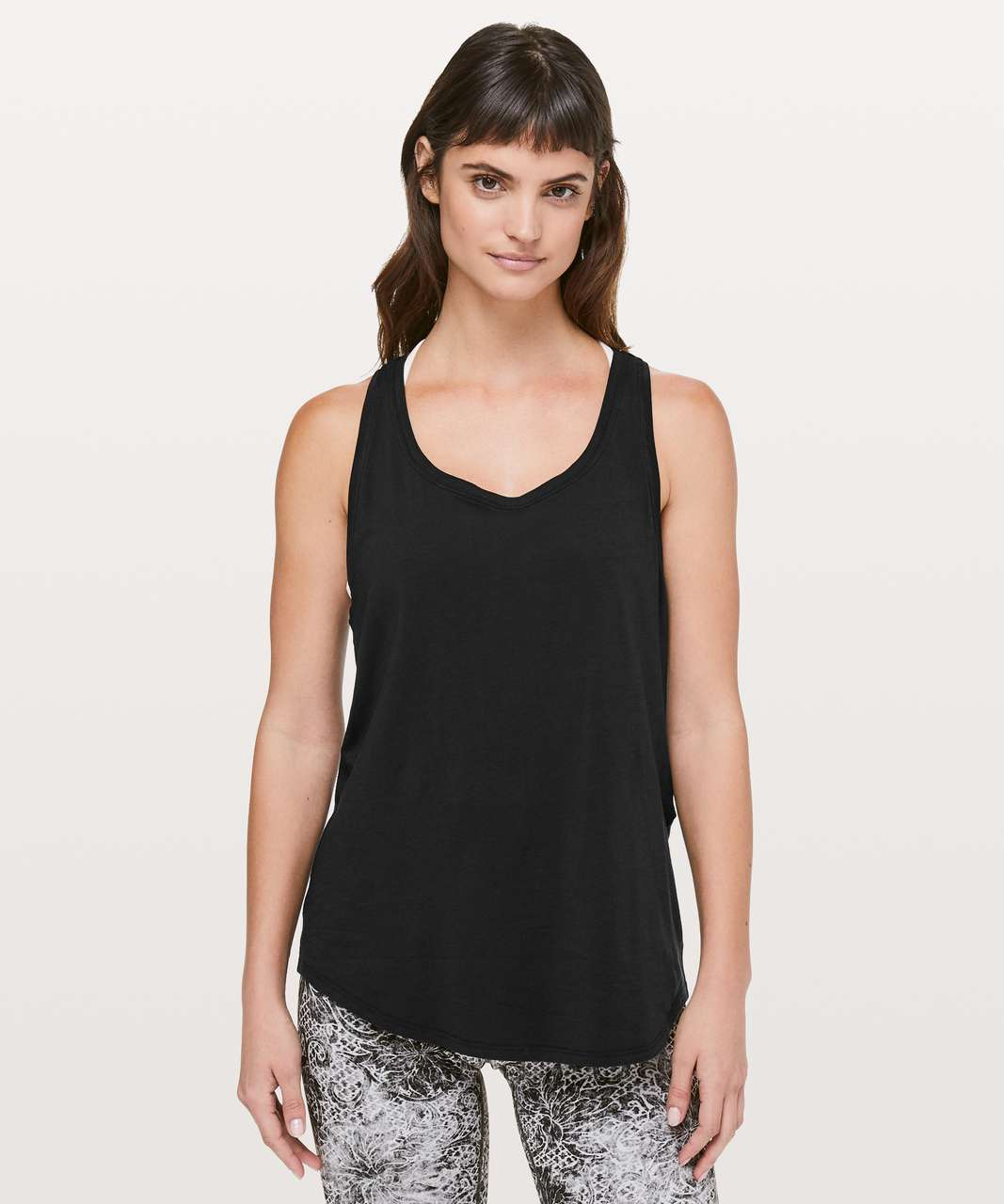 Lululemon Love Tank *Pleated - Black (Second Release)