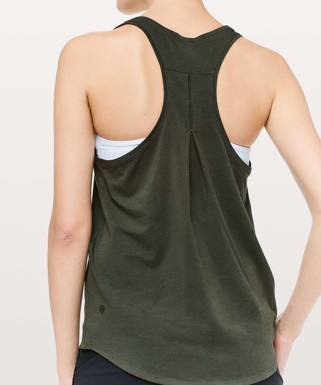 Lululemon Love Tank *Pleated - Dark Olive