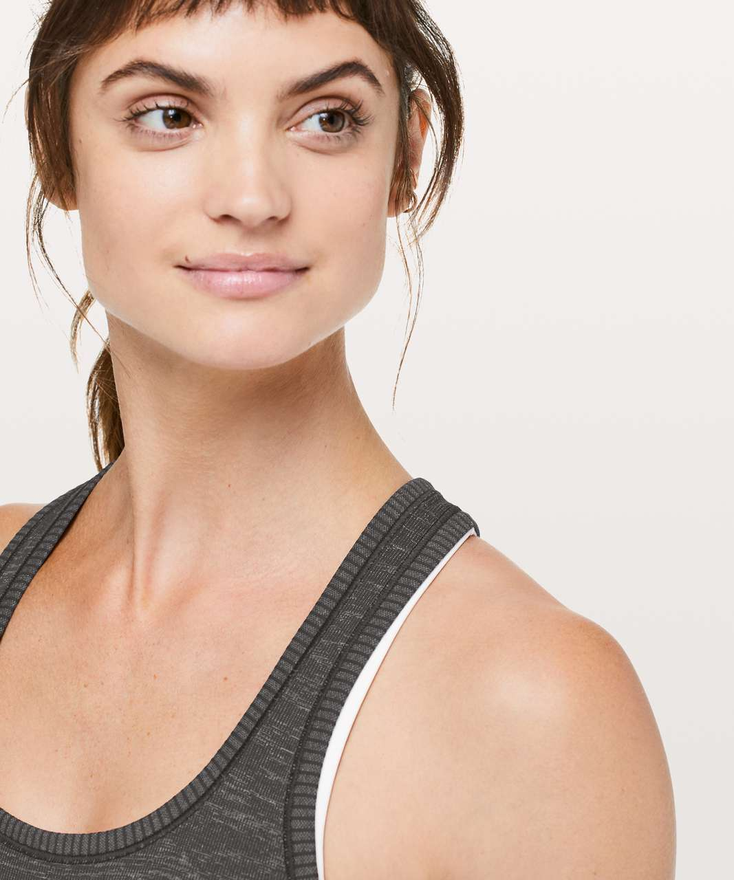 Lululemon Swiftly Tech Racerback - Black / White