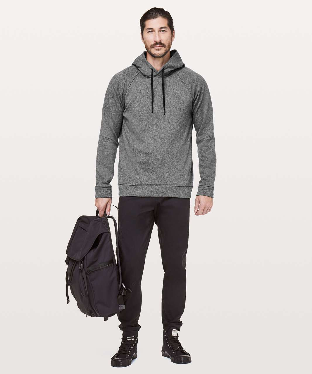 Lululemon City Sweat Pullover Hoodie *Thermo - Heathered Light Cast