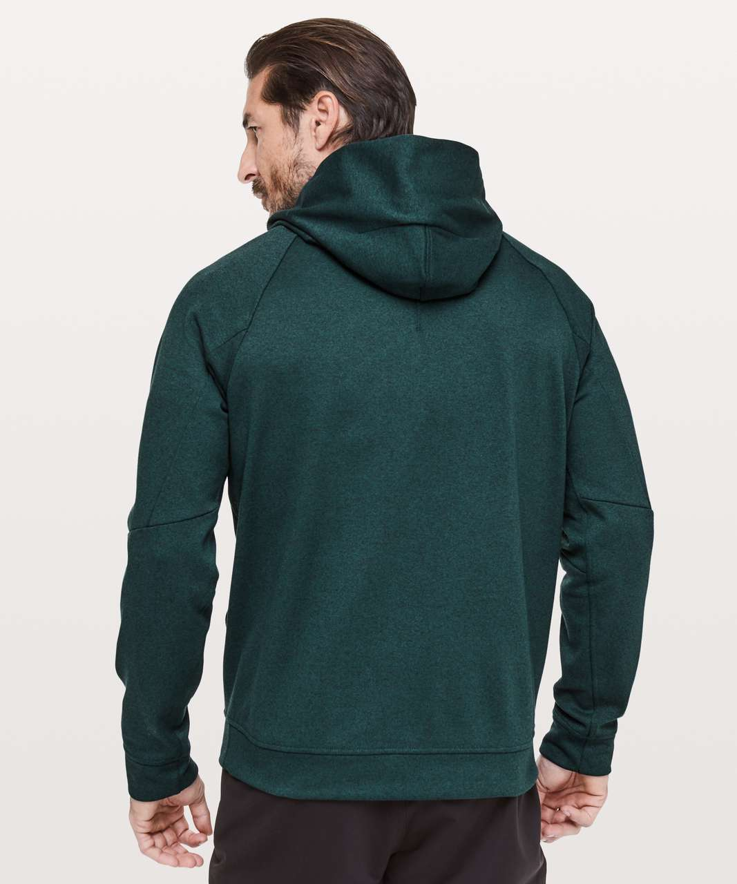 Lululemon City Sweat Pullover Hoodie *Thermo - Heathered Royal Emerald
