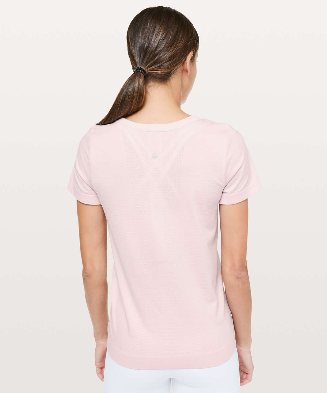 Lululemon Swiftly Tech Short Sleeve (Breeze) *Relaxed Fit - Blissful Pink / Blissful Pink