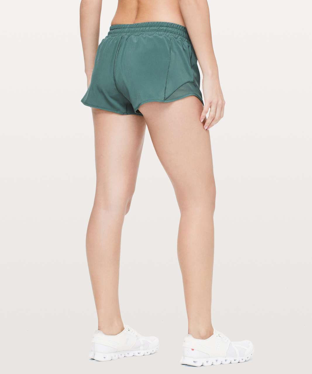 "Lululemon Hotty Hot Short II *2.5"" - Green Smoke"