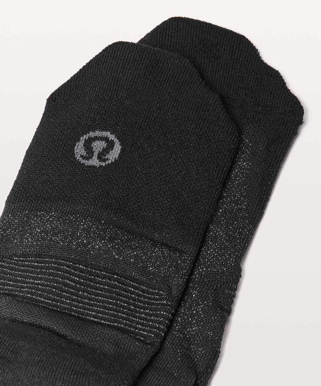 Lululemon Speed Sock *Silver - Black (Third Release)