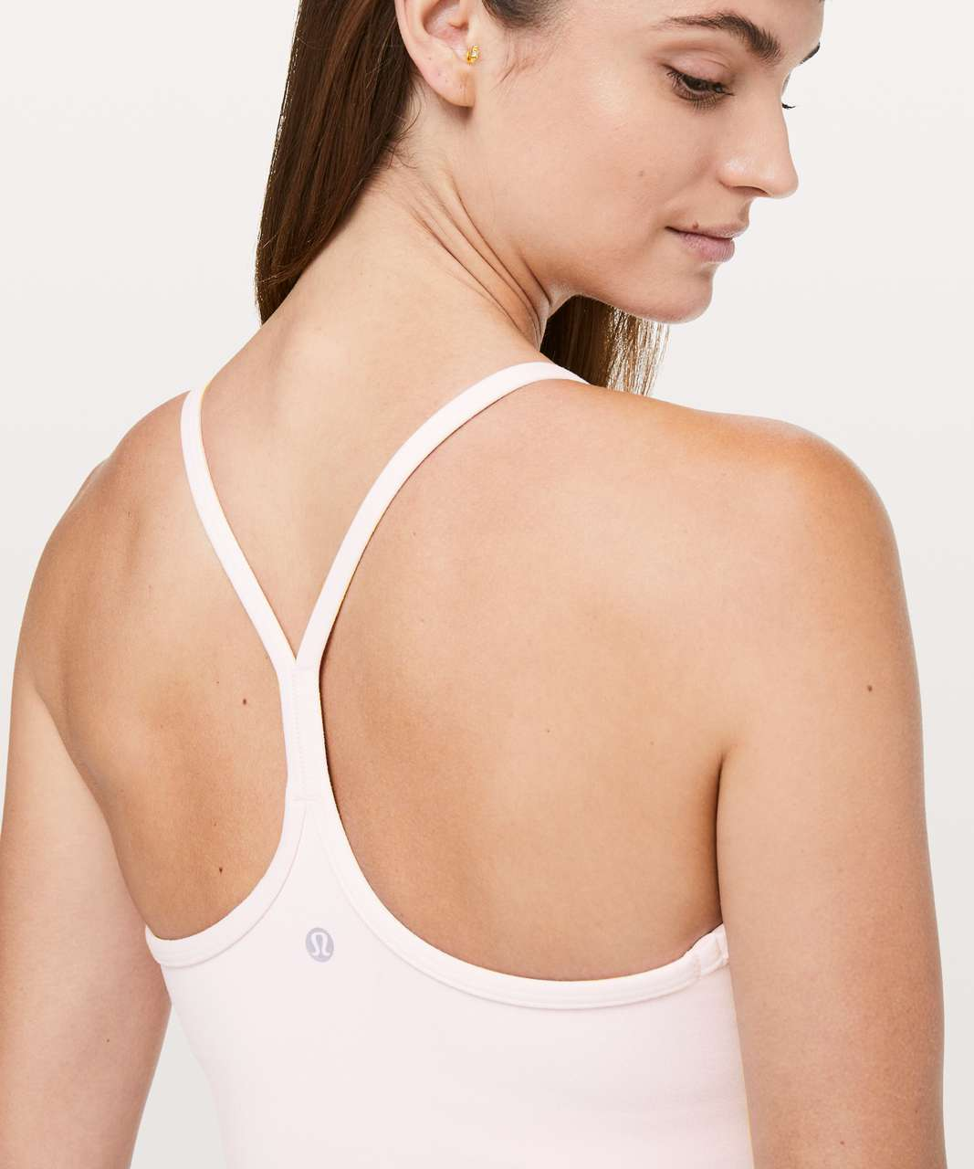 Lululemon Power Y Tank *Luon - Blissful Pink